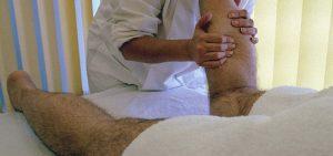 Massagem Terapêutica Perna